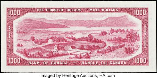 1954-1967 Bank of Canada Banknotes