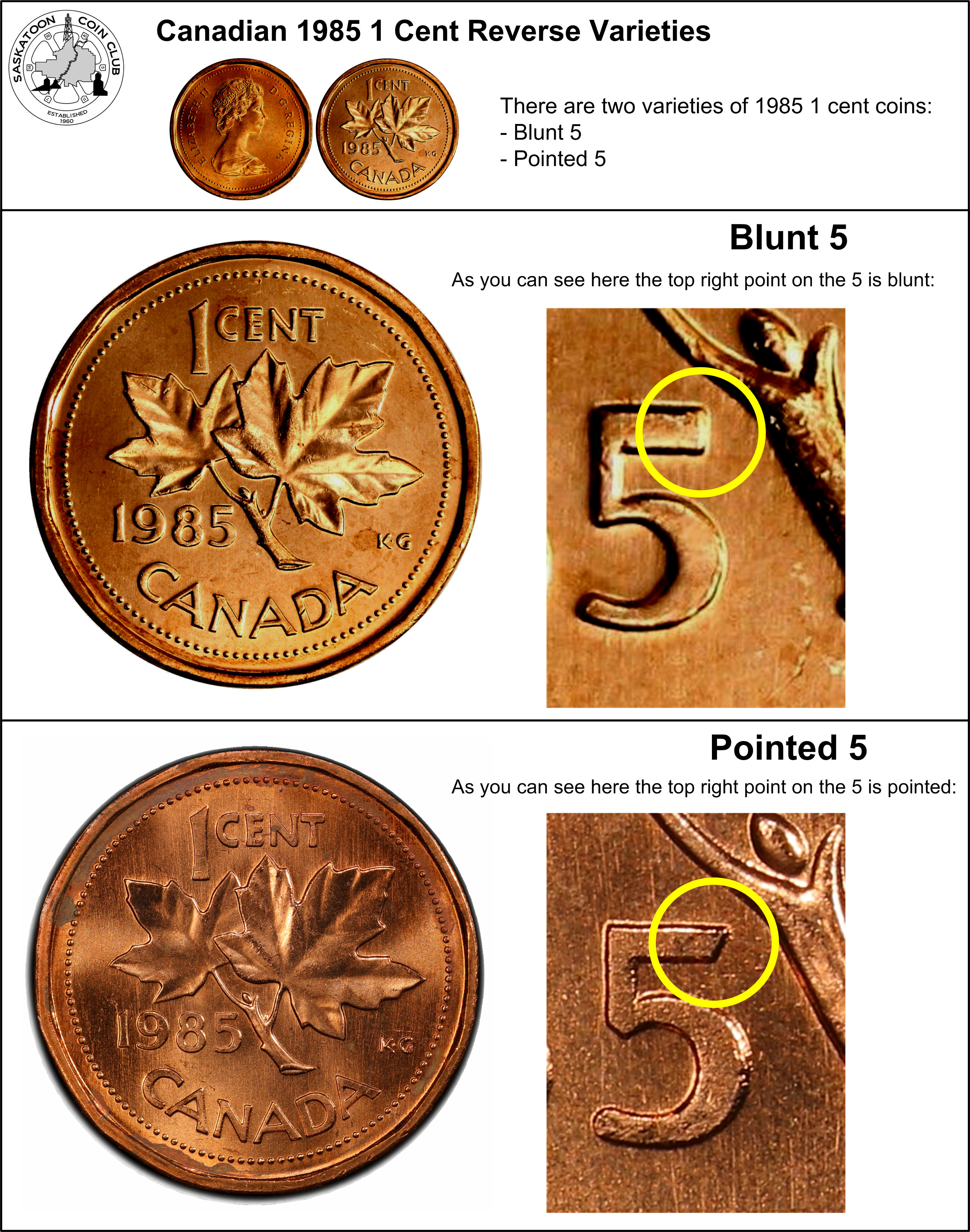 Lot of 2 1948 AtoDe /& AoffDe Canada 1 Cent Copper Penny Coins