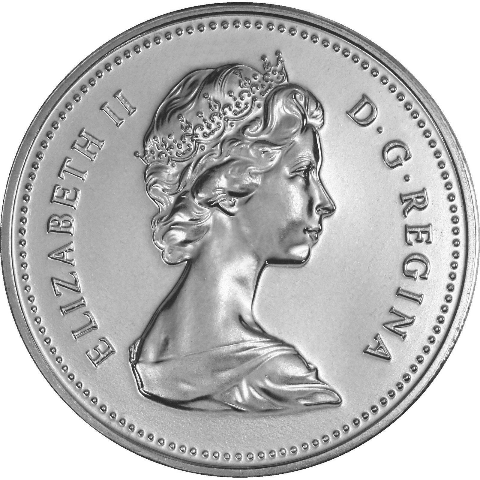 Canadian 5 Cent Obverse Design Evolution