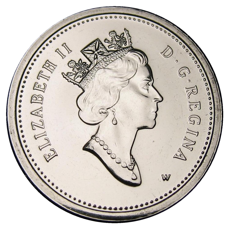 Canadian 10 Cent Obverse Design Evolution