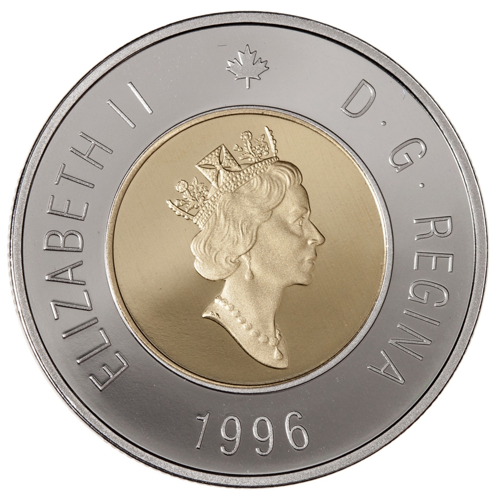 2015 CANADA TOONIE BRILLIANT UNCIRCULATED TWO DOLLAR COIN